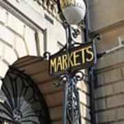 Bath - Market Poster