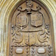 Bath Abbey Door Poster