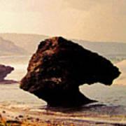 Bathsheba Rocks Poster