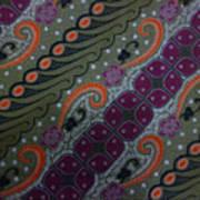 Batik Art Pattern Poster