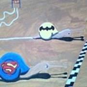 Batman Vs Superman Snail Poster