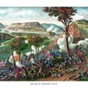 Battle Of Missionary Ridge Poster