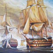 Battle Of Trafalger Poster