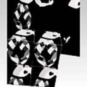 Bauhaus Ballet 2 The Cubist Harlequin Poster
