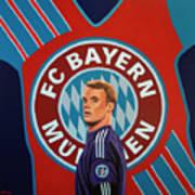 Bayern Munchen Painting Poster