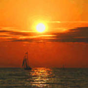 Bayfield Sunset - 1 Poster