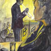 Bb Jazz Poster by Carol Wisniewski