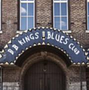 B.b. King's Blues Club Poster