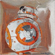 Bb8 In A Box Poster