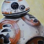 BB-8 Star Wars Poster