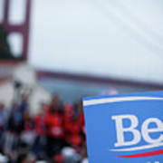 Be For Bern Poster