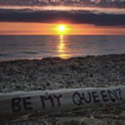 Be My Queen Poster