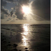 Beach After Sunrise  Poster