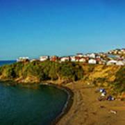 Beach - Ancud Chiloe Poster