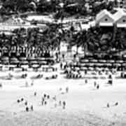 Beach At Grand Turk Poster
