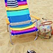 Beach Attire Poster