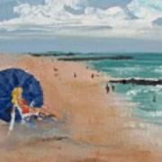 Beach Blond Poster