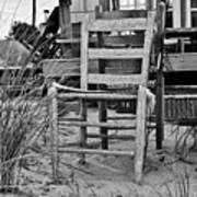 Beach Chair Poster