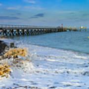 Beach La Tranche Sur Mer Poster
