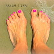 Beach Life Poster