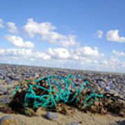 Beach Net Poster