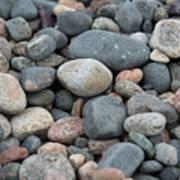 Beach Of Stones Poster