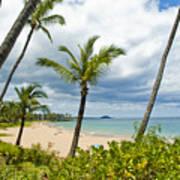 Beach On Maui 23 Poster