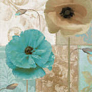Beach Poppies Poster