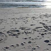 Beach, Self-named Poster