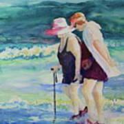 Beach Strollers II Poster