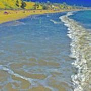 Beach Summer Midday Midweek Poster