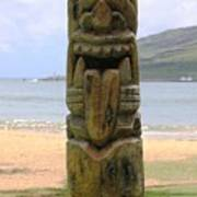 Beach Tiki Poster