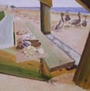 Beachcomber Poster