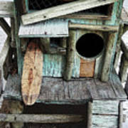 Beachfront Birdhouse For Rent 1 Poster