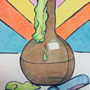 Beaker Poster by Loretta Nash