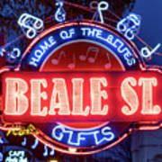Beale Street Home Of The Blues Poster