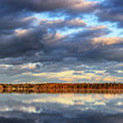 Bear Lake Michigan At Sunrise Poster