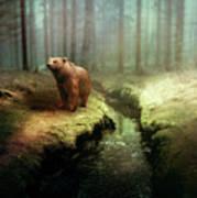 Bear Mountain Fantasy Poster