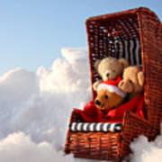 Bears Winter Holidays Poster
