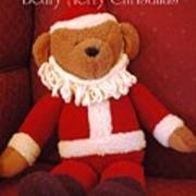 Beary Merry Christmas  Poster