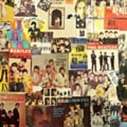 Beatles Collage 1 Poster