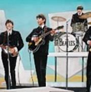 Beatles on Ed Sullivan Poster