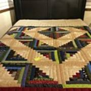 Beautiful Amish Quilt Poster