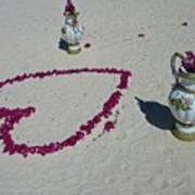 Beautiful Beach Still Life Poster