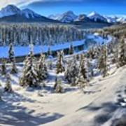 Beautiful Bow Valley Poster