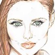Brunette- So Beautiful  Poster