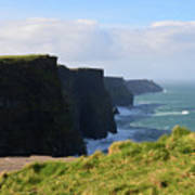 Beautiful Cliff's Of Moher In Liscannor Ireland Poster