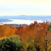 Beautiful Colors Of Autumn Landscape 2 Poster