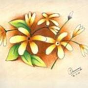 Beautiful Flowers Poster by Tanmay Singh