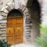 Beautiful Italian Doorway Poster